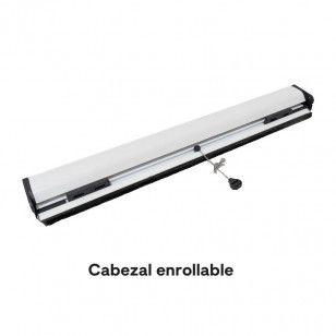 Mosquitera Enrollable Partida | Cabezal de 33 mm