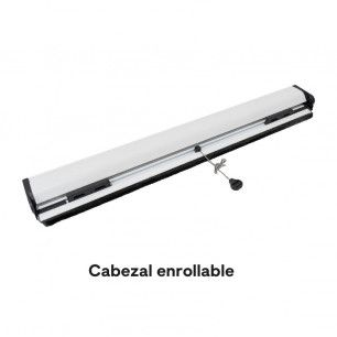 Mosquitera Enrollable Partida   Cabezal de 33 mm