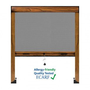 Mosquitera Enrollable Antipolen | Colores maderas lisos, foliados y texturados