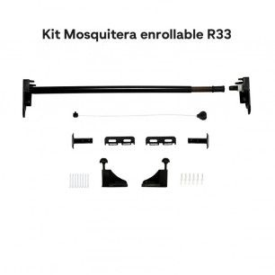 Kit mosquitera enrollable de 33mm | Mosquiteras.org