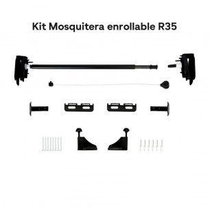Kit mosquitera enrollable de 35mm | Mosquiteras.org