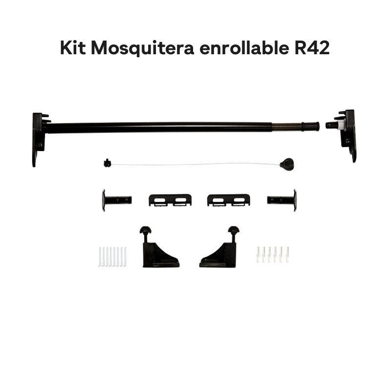 Repuesto Kit Mosquitera Enrollable | Detalle piezas componentes