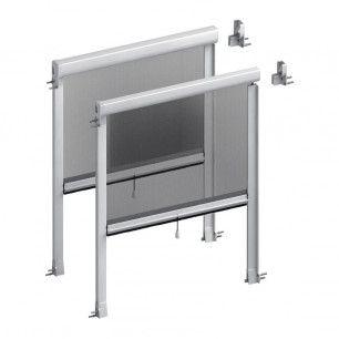 Mosquitera Enrollable Vertical Antiviento 43