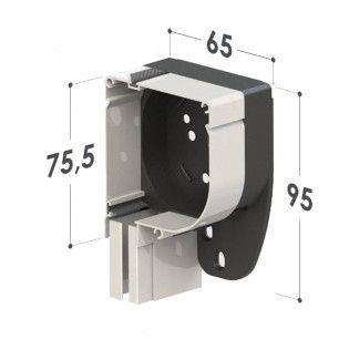 Mosquitera Enrollable Motorizada  | Cabezal 65 mm
