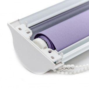 Estores enrollables Cristal Glass Traslúcido | Cabezal