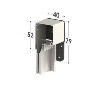 Cabezal Antiviento de 40mm   Medidas