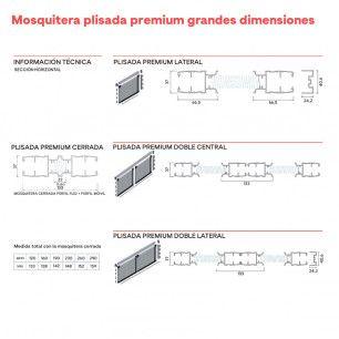 Plisada de Grandes Dimensiones | Información Técnica