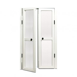 Mosquitera Abatible doble para puertas | Mosquiteras.org