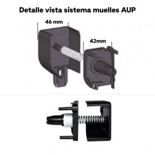 Cabezal sistema de muelles AUP | Mosquiteras enrollables