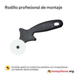 Rodillo gratis para montar la tela corredera | Mosquiteras.org