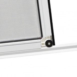 Perfil de aluminio a medida para mosquiteras correderas