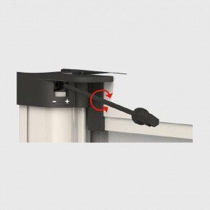Mosquitera Plisada de Cierre Automatico 45 | Cierre Regulador