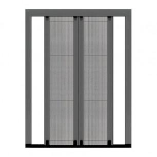 Plisada Premium reversible XL | 2 Puertas mosquiteras