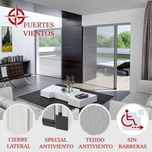Mosquitera Enrollable Lateral Antiviento