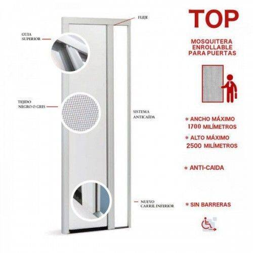 Mosquitera Enrollable Puertas Top