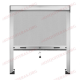 Mosquitera Enrollable para espacios reducidos entre cristal y persiana
