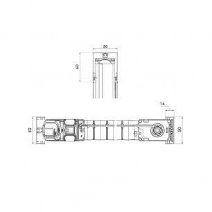 Mosquitera Enrollable Lateral Antiviento Especial | Detalle Técnico