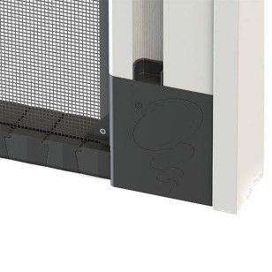 Mosquitera Enrollable Lateral Antiviento Especial | Resistente Cadena Inferior