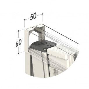 Mosquitera Enrollable Lateral Antiviento Especial ! Cabezal de 50mm