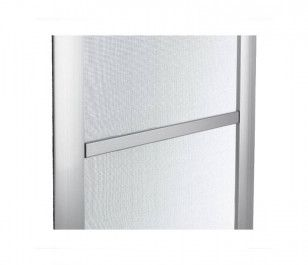 Mosquitera Fija Metálica | Refuerzo horizontal de aluminio