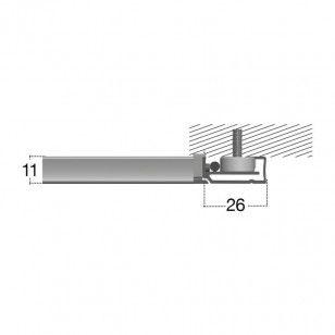 Mosquitera Fija Magnética |Medidas del perfil