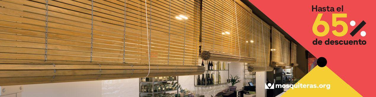 Persianas Alicantinas baratas, cadenillas para ventanas y puertas