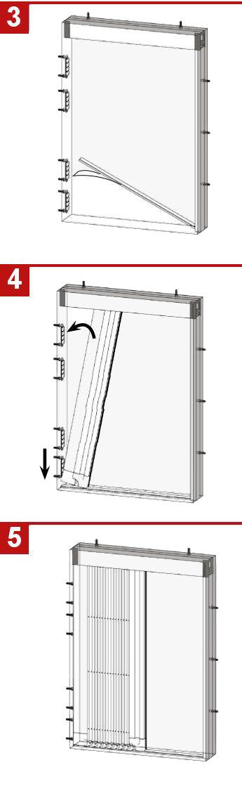 Manual para instalar la mosquitera plisada de 45 mm - 2