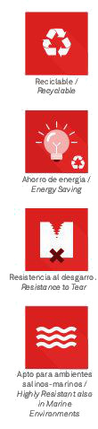 Datos técnicos screen colors Ahorro de energía